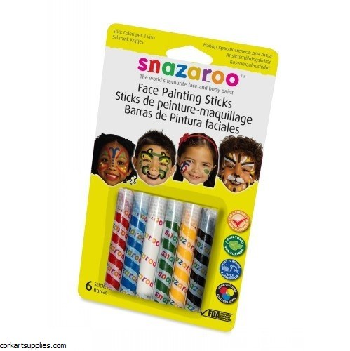Snazaroo Sticks Unisex 6pk