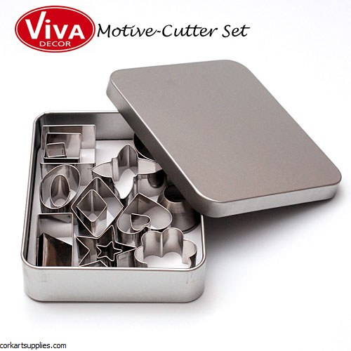 Polymer Clay Cutters Viva 18pk