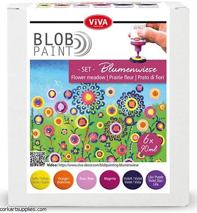 Viva Decor Blob Paint Farbset Blumenwiese