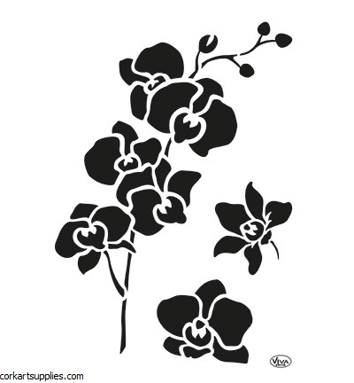 Stencil A4 Viva Orchid