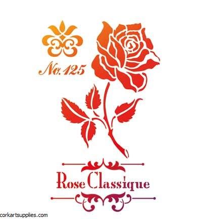 Stencil A4 Viva Rose 2767