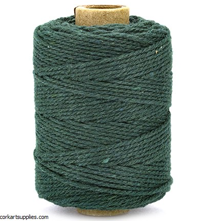 Cord Cotton 2mm 50m Dark Green