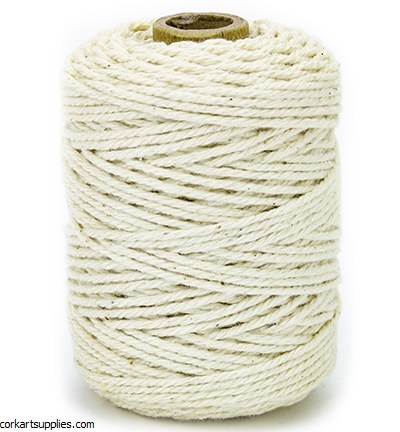 Cord Cotton 2mm 50m Ivory