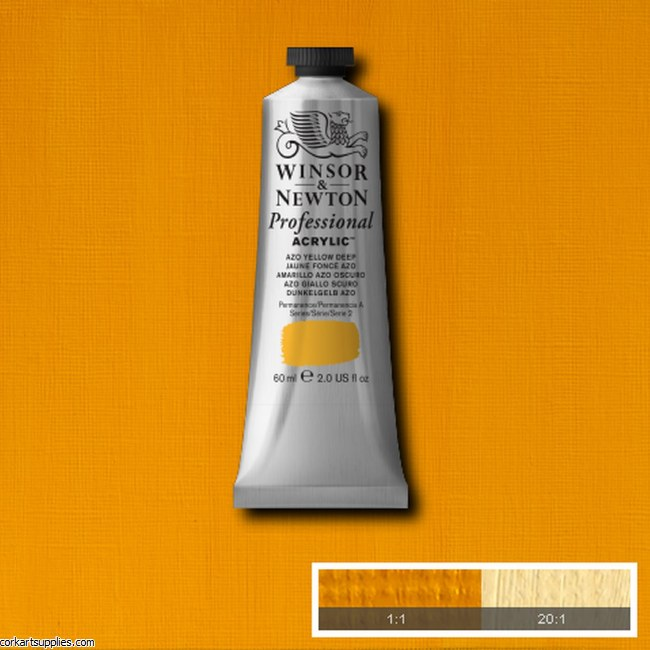 Azo Yellow Deep 60ml Artists' Acrylic Winsor & Newton