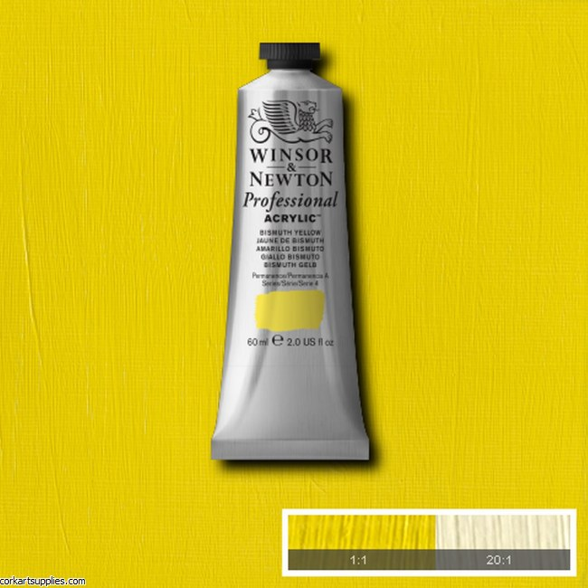 Bismuth Yellow 60ml Artists' Acrylic Winsor & Newton