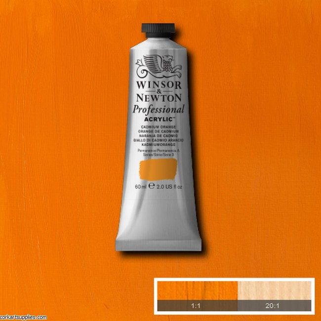 Cadmium Orange 60ml Artists' Acrylic Winsor & Newton