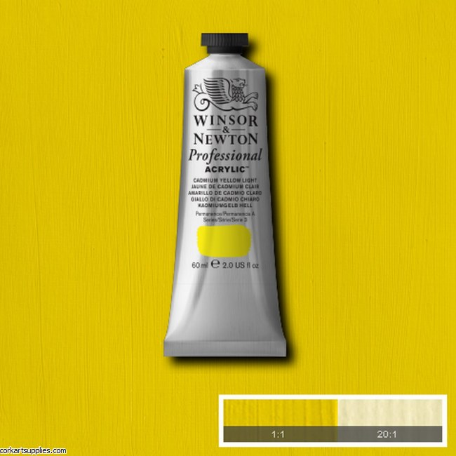 Cadmium Yellow Light 60ml Artists' Acrylic Winsor & Newton