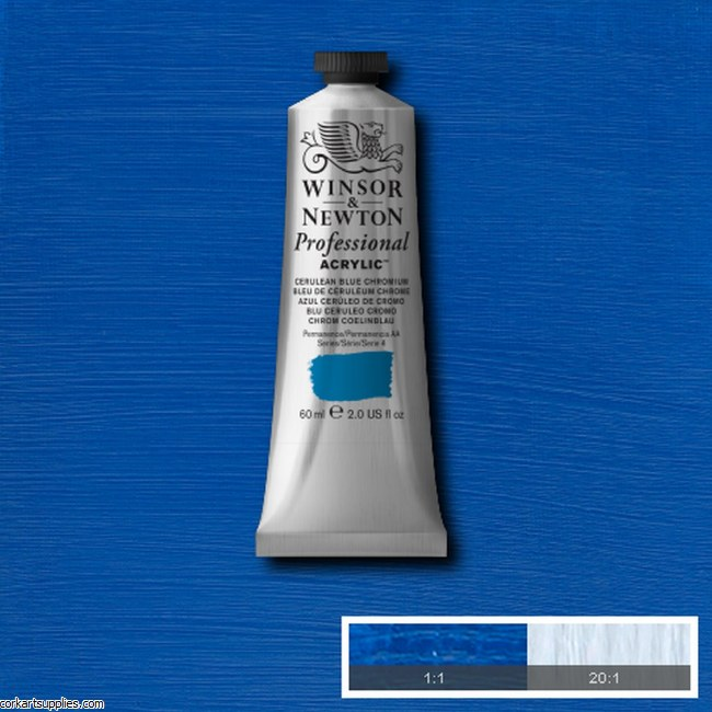 Cerulean Blue Chrome 60ml Artists' Acrylic Winsor & Newton