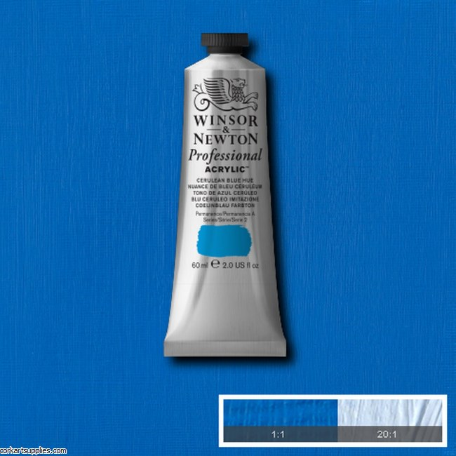 Cerulean Blue Hue 60ml Artists' Acrylic Winsor & Newton