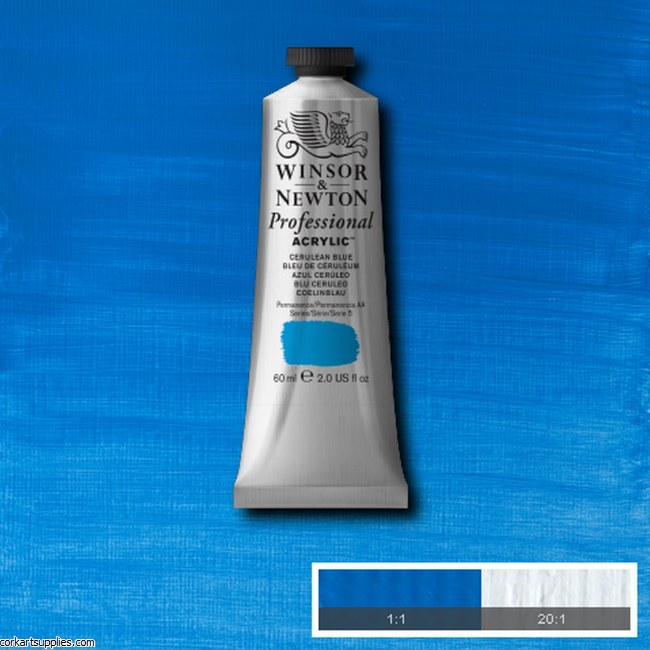 Cerulean Blue 60ml Artists' Acrylic Winsor & Newton