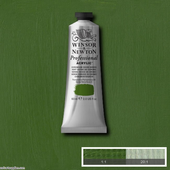 Chrome Oxide Green 60ml Artists' Acrylic Winsor & Newton
