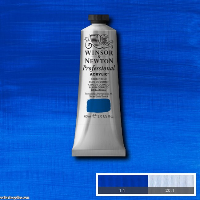 Cobalt Blue 60ml Artists' Acrylic Winsor & Newton