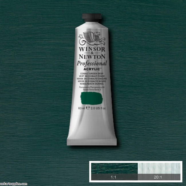 Cobalt Green Deep 60ml Artists' Acrylic Winsor & Newton