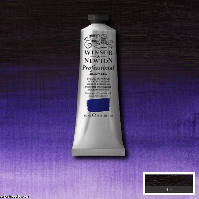 Dioxazine Purple 60ml Artists' Acrylic Winsor & Newton