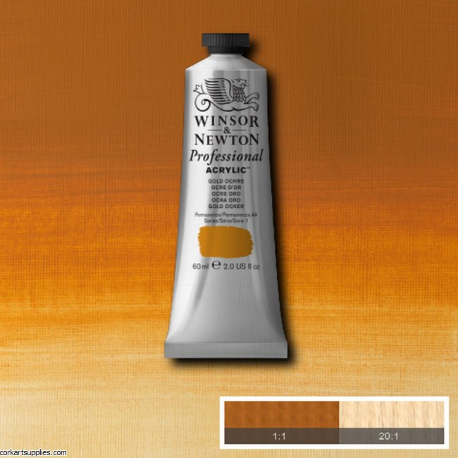 Gold Ochre 60ml Artists' Acrylic Winsor & Newton