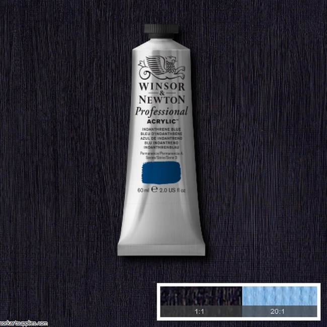 Indanthrene Blue 60ml Artists' Acrylic Winsor & Newton