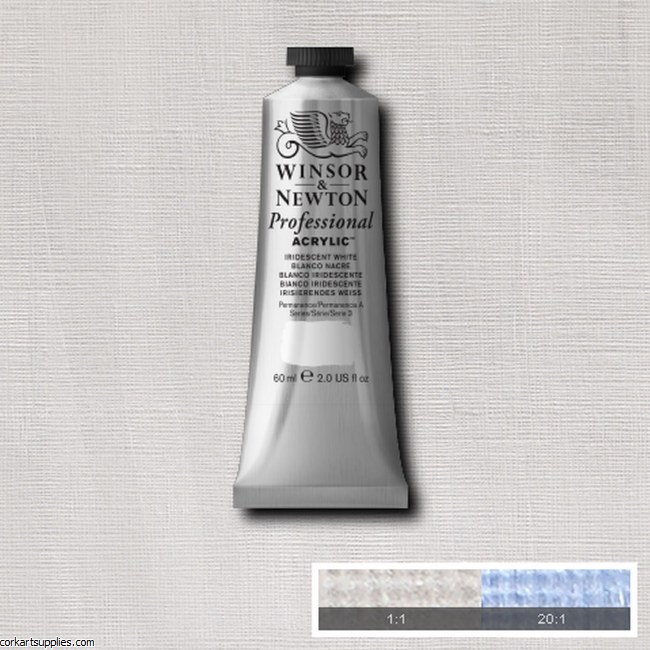 Iridescent White 60ml Artists' Acrylic Winsor & Newton