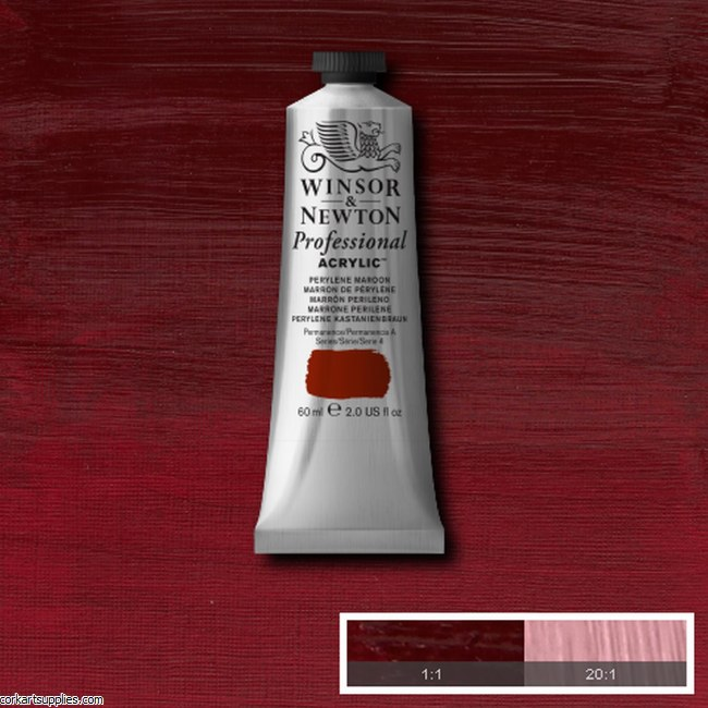 Pyrrole Maroon 60ml Artists' Acrylic Winsor & Newton