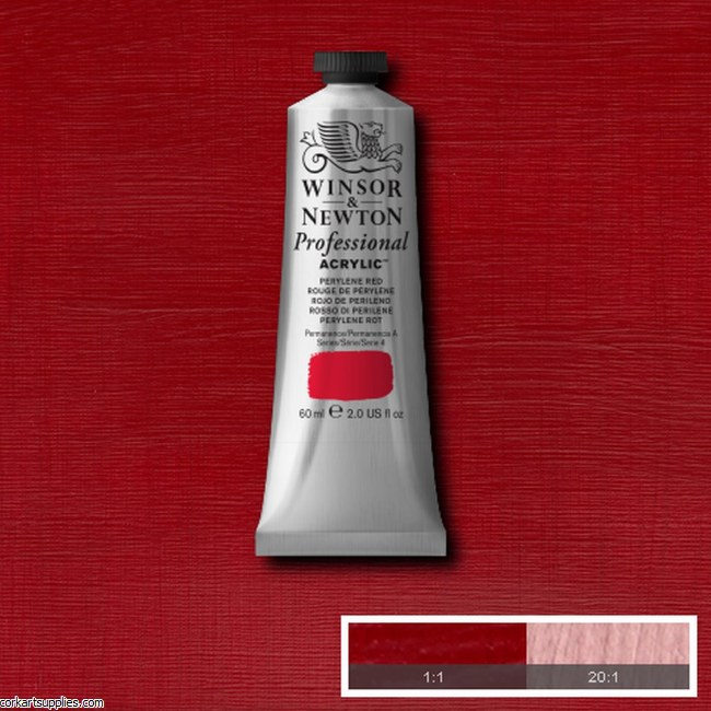 Perylene Red 60ml Artists' Acrylic Winsor & Newton