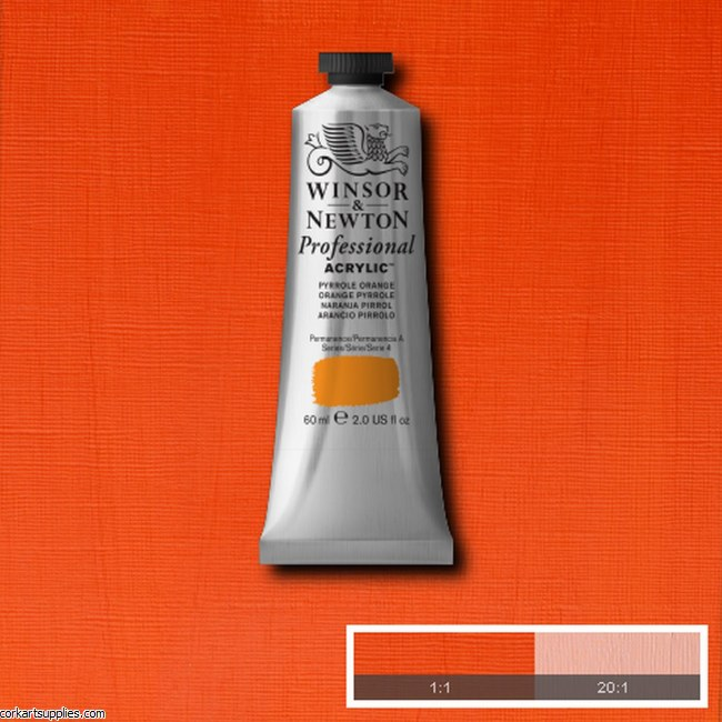 Pyrrole Orange 60ml Artists' Acrylic Winsor & Newton