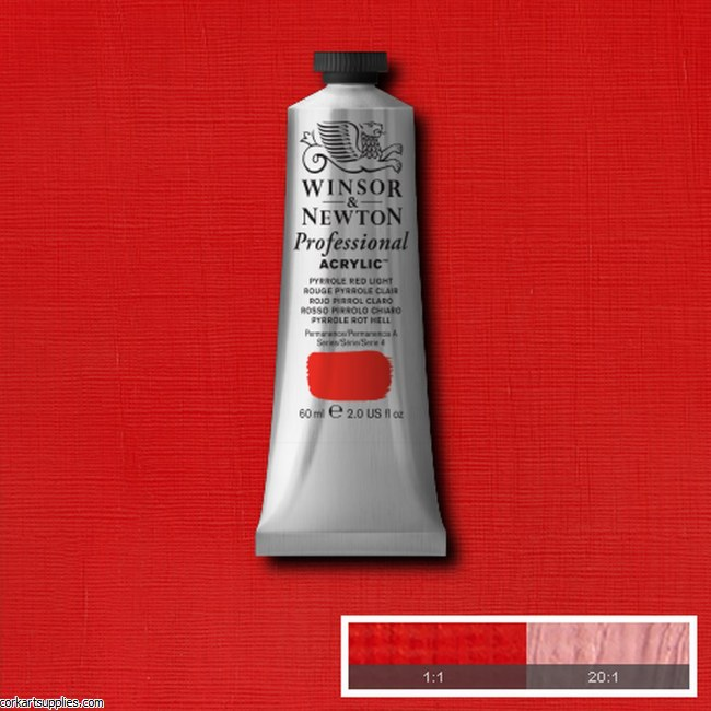 Pyrrole Red Light 60ml Artists' Acrylic Winsor & Newton