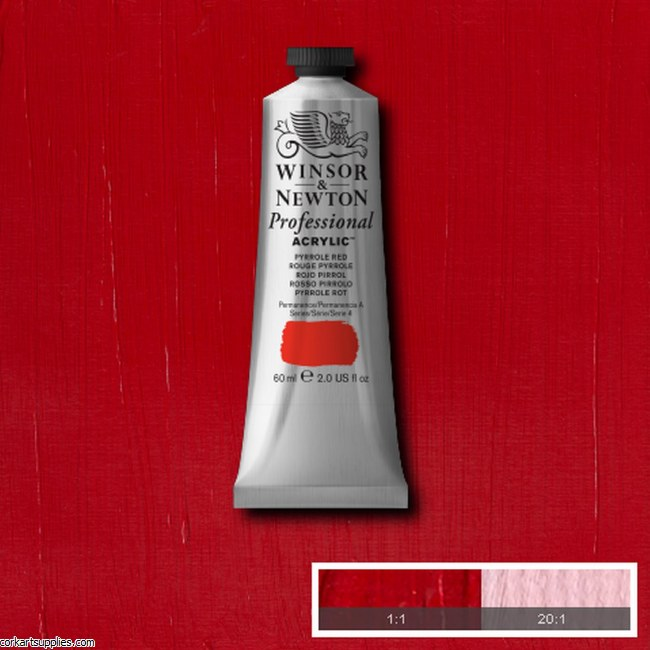 Pyrrole Red 60ml Artists' Acrylic Winsor & Newton
