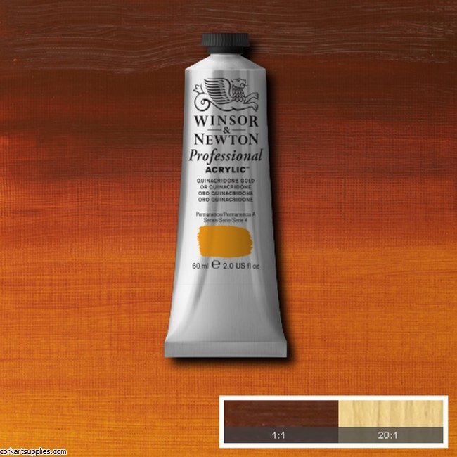 Quinac Gold 60ml Artists' Acrylic Winsor & Newton