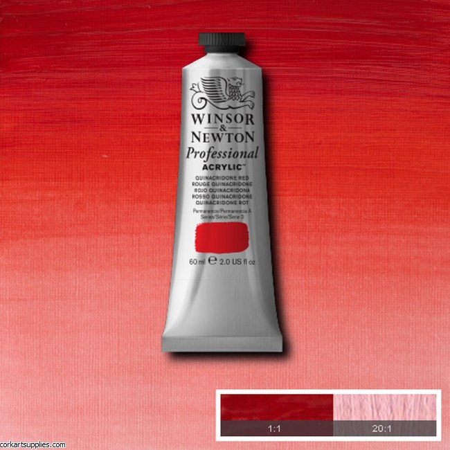 Quinac Red 60ml Artists' Acrylic Winsor & Newton