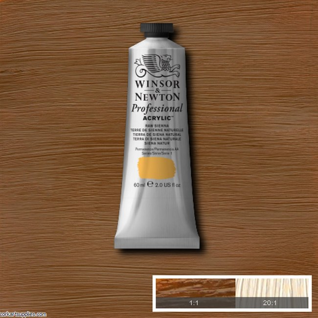Raw Sienna 60ml Artists' Acrylic Winsor & Newton