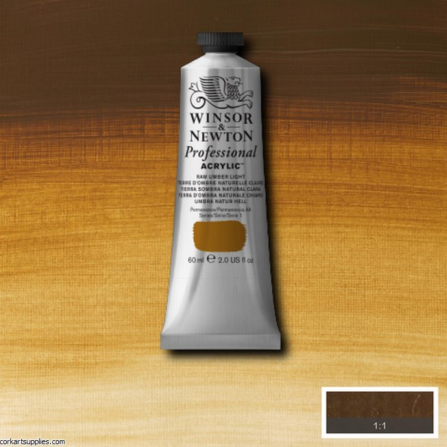 Raw Umber Light 60ml Artists' Acrylic Winsor & Newton