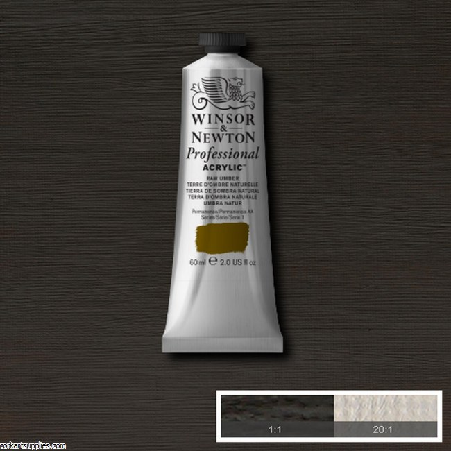 Raw Umber 60ml Artists' Acrylic Winsor & Newton