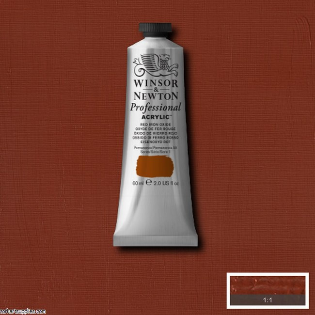 Red Iron Oxide 60ml Artists' Acrylic Winsor & Newton