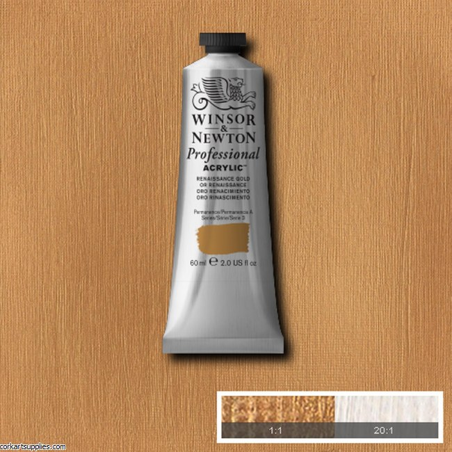 Renes Gold 60ml Artists' Acrylic Winsor & Newton