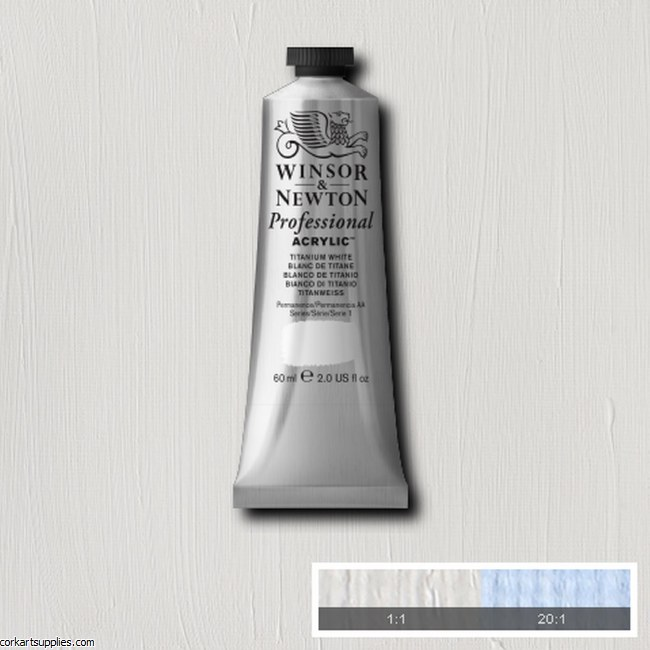 Titanium White 60ml Artists' Acrylic Winsor & Newton