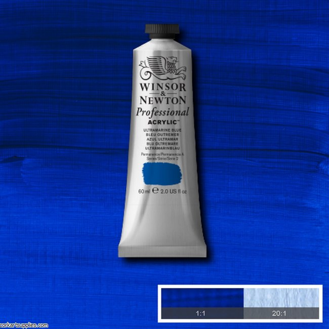 Ultramarine Blue 60ml Artists' Acrylic Winsor & Newton