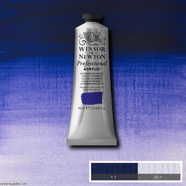 Ultramarine Violet 60ml Artists' Acrylic Winsor & Newton