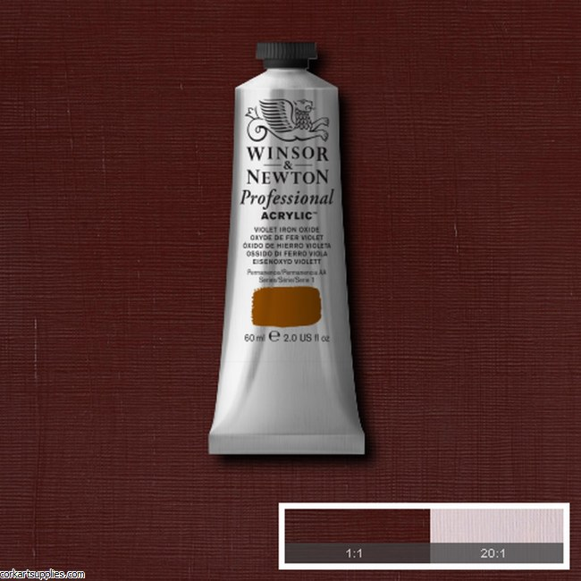 Violet Iron Oxide 60ml Artists' Acrylic Winsor & Newton