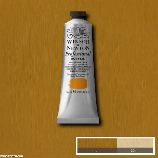 Yellow Iron Oxide 60ml Artists' Acrylic Winsor & Newton