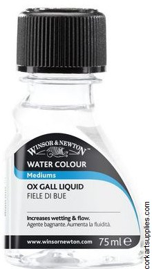 Winsor & Newton 75ml Ox Gall Liquid
