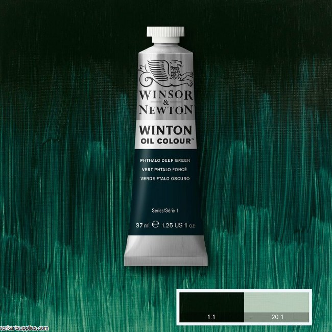 Winton 37ml Phthalo Deep Green