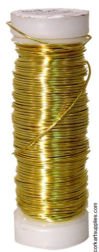 Wire Gold .5mmx25m