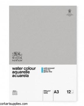 W&N WC Pad Gum A3 140lb NOT
