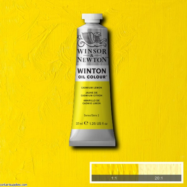 Winton Oil Colour 37ml Cadmium Lemon (Hue)