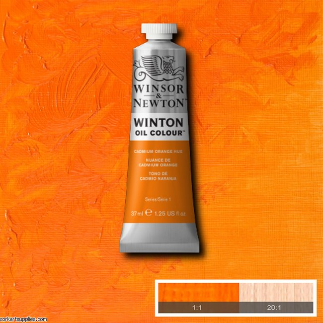 Winton Oil Colour 37ml Cadmium Orange (Hue)