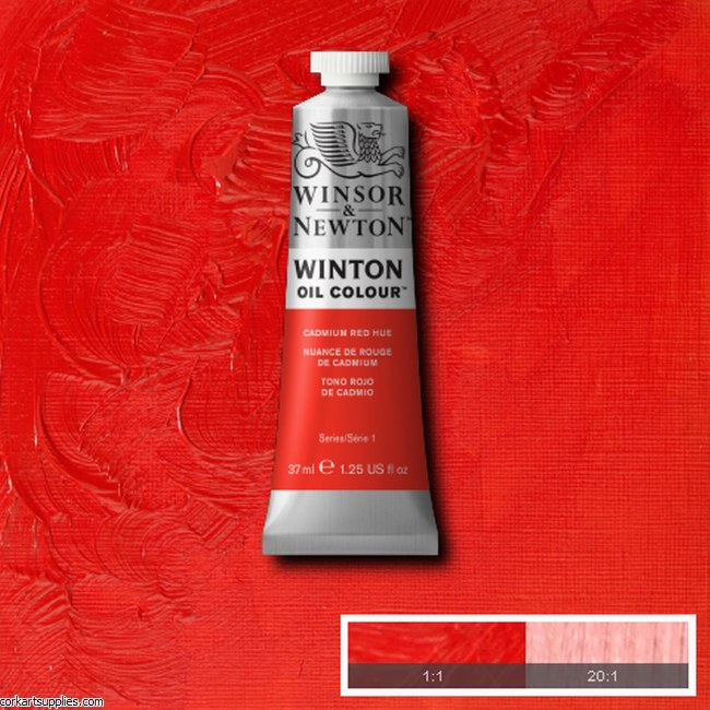 Winton Oil Colour 37ml Cadmium Red (Hue)