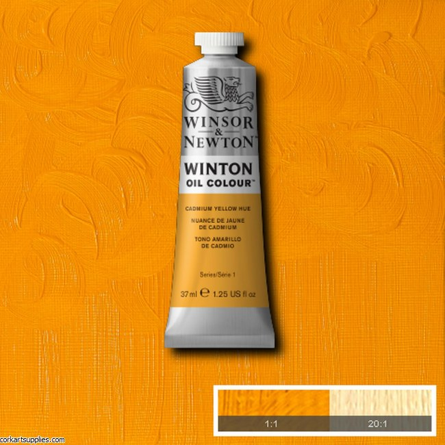 Winton Oil Colour 37ml Cadmium Yellow (Hue)