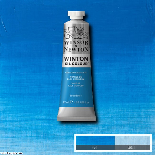 Winton Oil Colour 37ml Cerulean Blue (Hue)