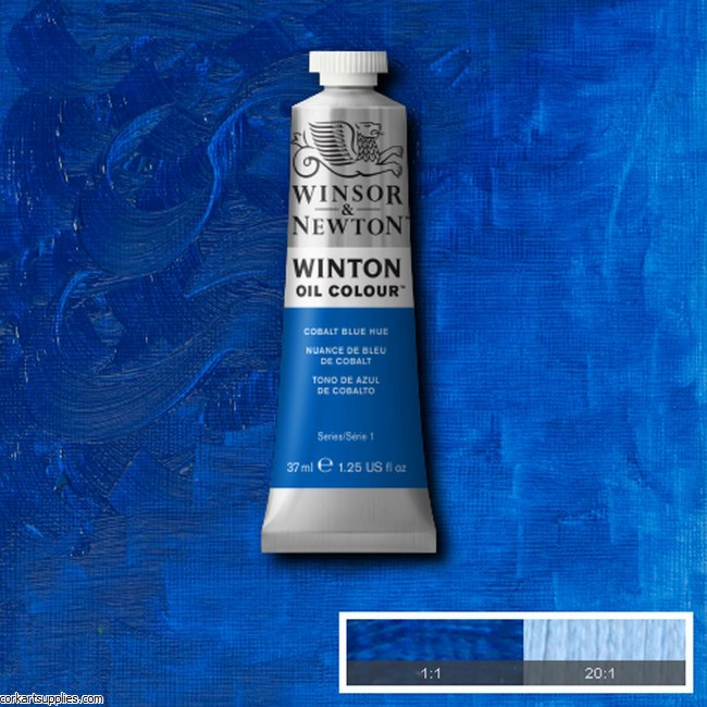 Winton Oil Colour 37ml Cobalt Blue (Hue)