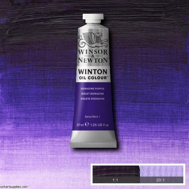 Winton Oil Colour 37ml Dioxazine Purple