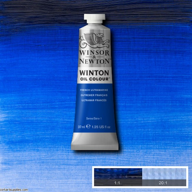 Winton Oil Colour 37ml French Ultramarine